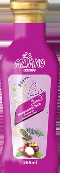 Нектар Aziano Мангостина с семенами чиа 30%