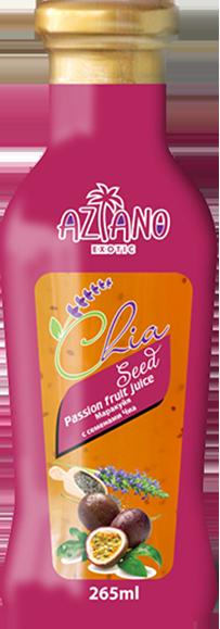 Нектар Aziano Маракуйи с семенами чиа 30%