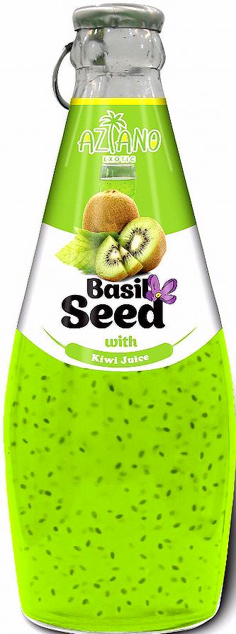 Нектар Aziano Киви с семенами базилика 30%