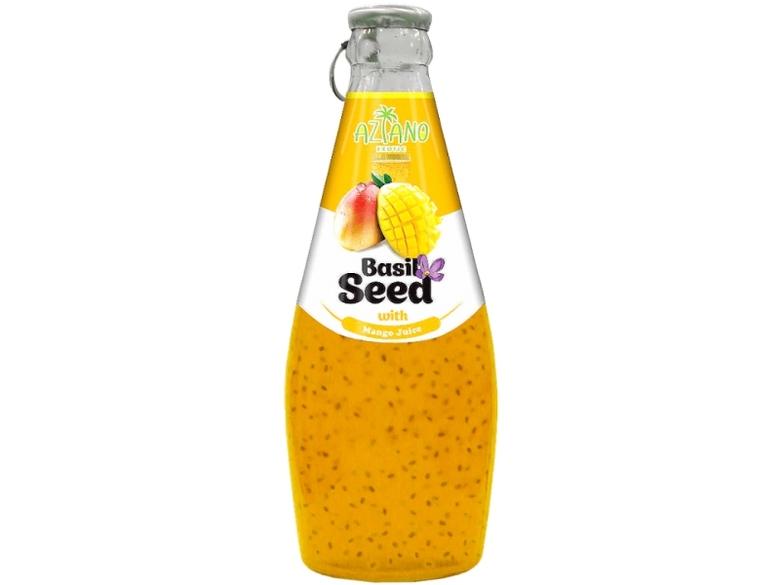 Нектар Aziano Манго с семенами базилика 30%