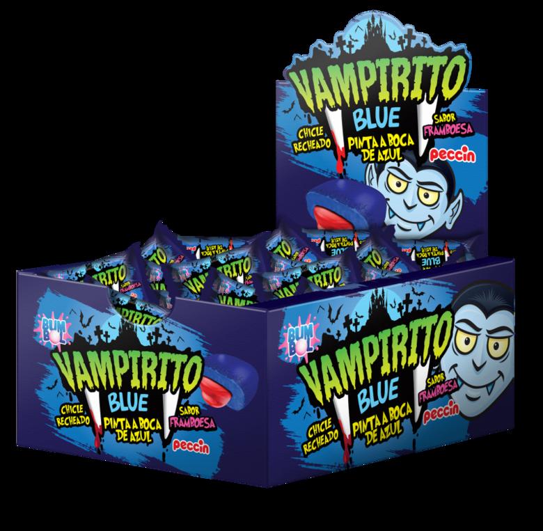Жевательная резинка Vampirito Blue