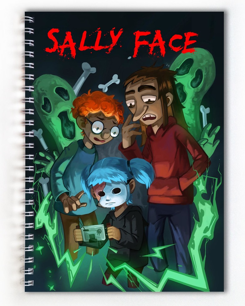 Тетрадь Sally Face (1)