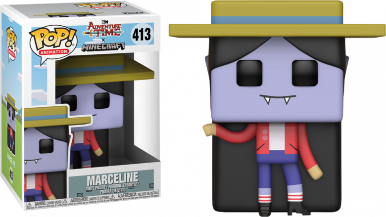 Фигурка Funko POP! Vinyl: Adventure Time/Minecraft S1: Marceline