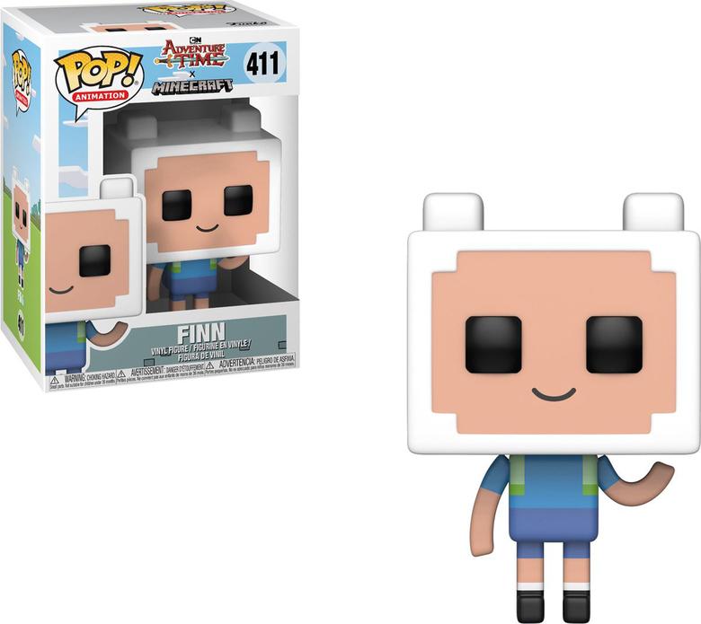 Фигурка Funko POP! Vinyl: Adventure Time/Minecraft S1: Finn
