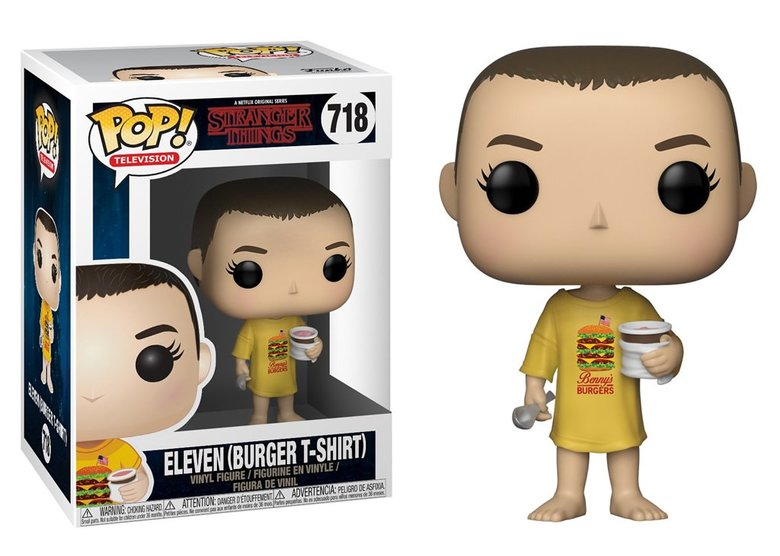 Фигурка Funko POP! Vinyl: Stranger Things: Eleven in Burger Tee