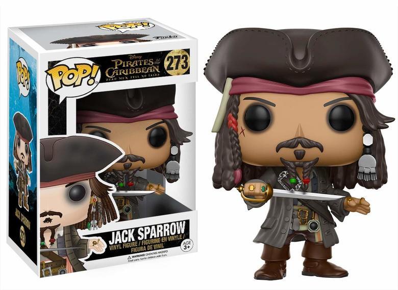 Фигурка Funko POP! Vinyl: Disney: Pirates 5: Jack Sparrow