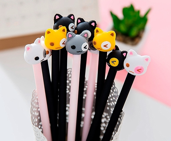 Ручка Подмигивающий котенок