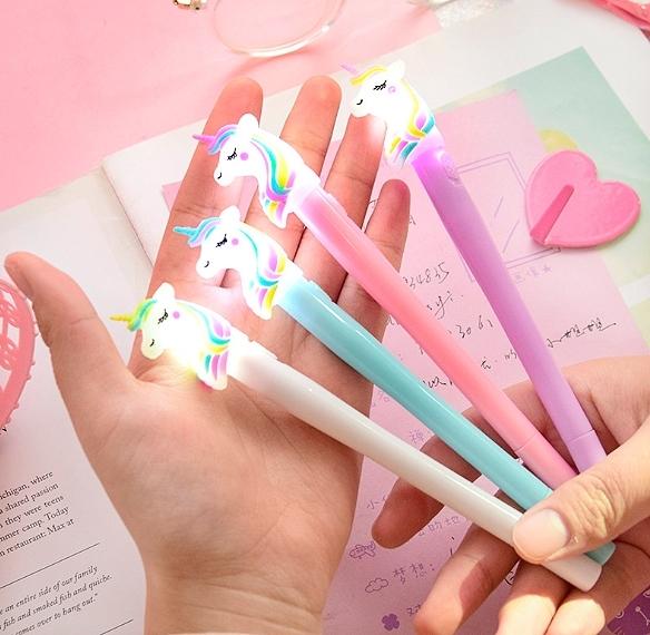 Ручка Светящийся единорог