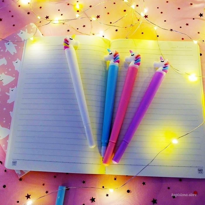 Ручка Спящий единорог