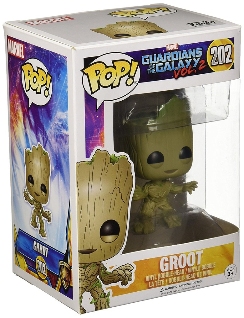 Фигурка Funko POP! Bobble: Guardians O/T Galaxy 2: Groot