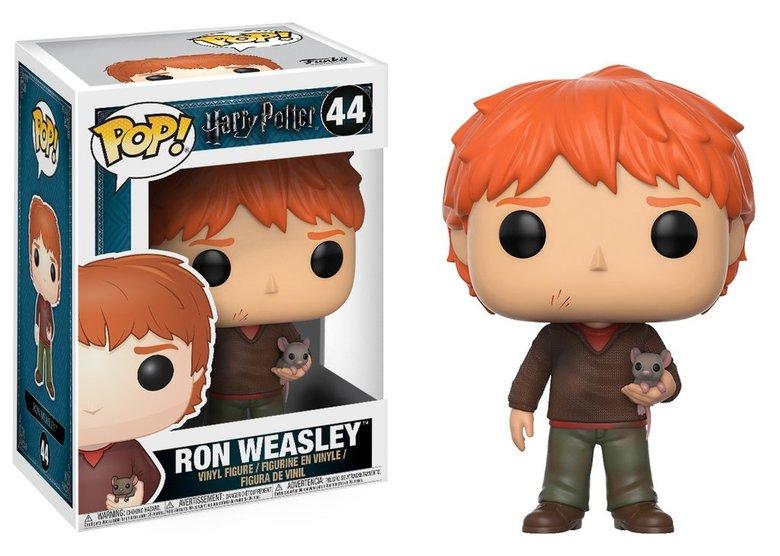 Фигурка Funko POP! Vinyl: Harry Potter: Ron Weasley w/ Scabbers
