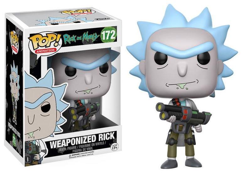 Фигурка Funko POP! Vinyl: Rick & Morty: Weaponized Rick