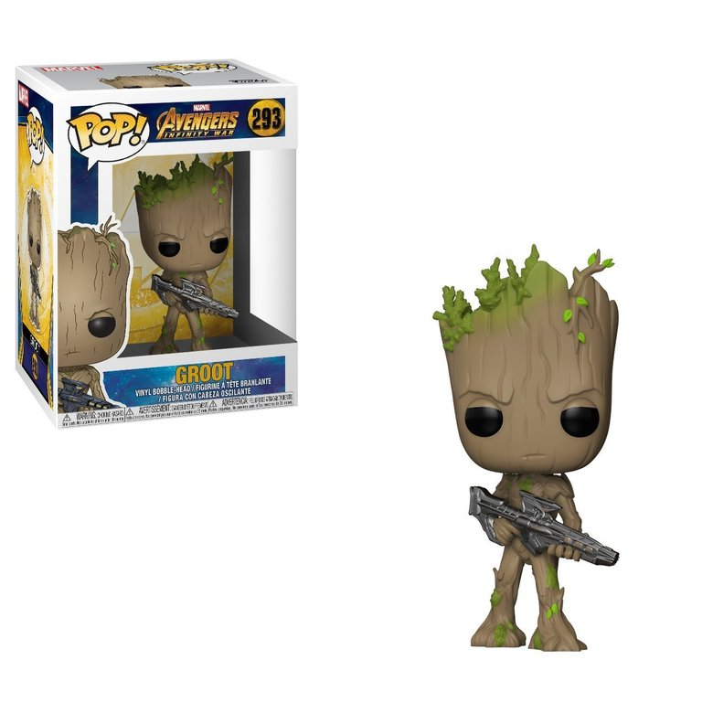 Фигурка Funko POP! Bobble: Marvel: Avengers Infinity War: Groot
