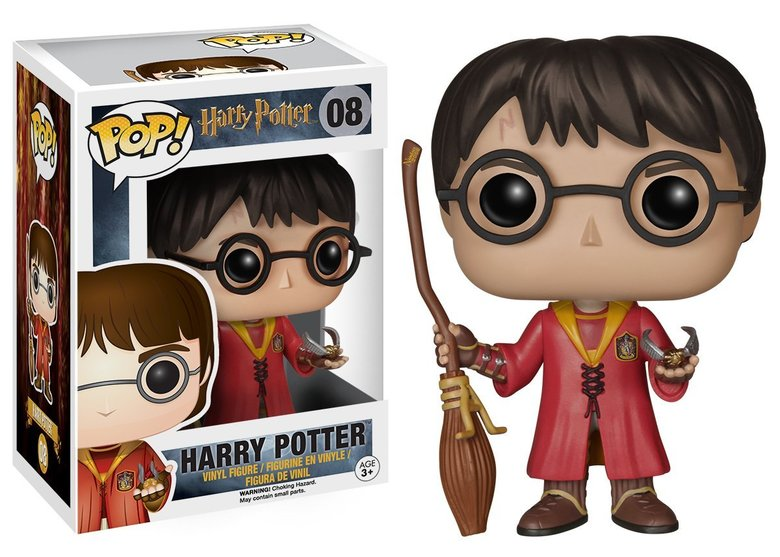 Фигурка Funko POP! Vinyl: Harry Potter: Quidditch Harry