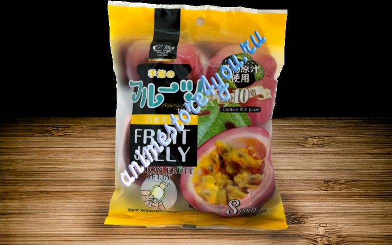 Фрукт-желе со вкусом Маракуйя