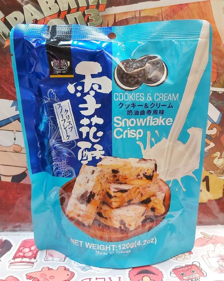 Японское печенье «Сноуфлэйк» с Орео
