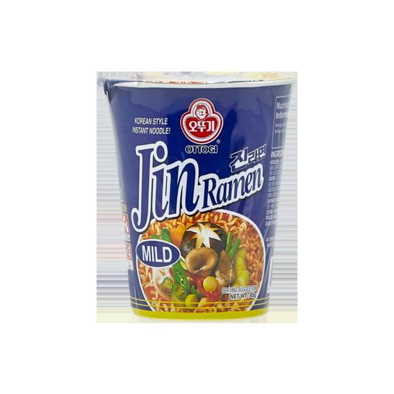 """Лапша быстрого приготовления """"Jin Ramen"""" (Mild) со вкусом грибов"""