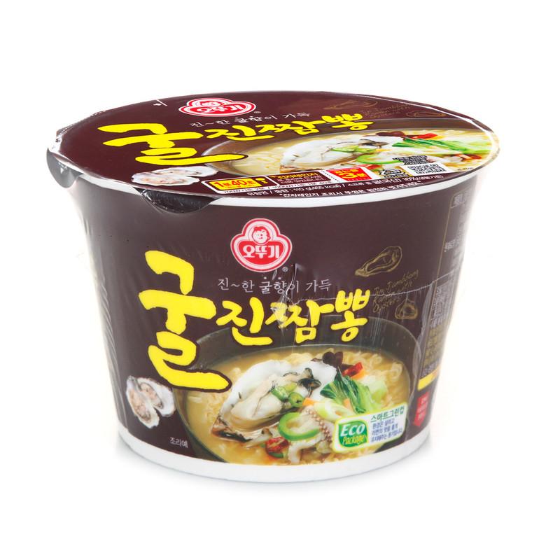 "Лапша быстрого приготовления ""Jin Jjambbong Ramen with Oysters"" со вкусом устрицы ""Jin Jjambbong Ramen with Oysters """