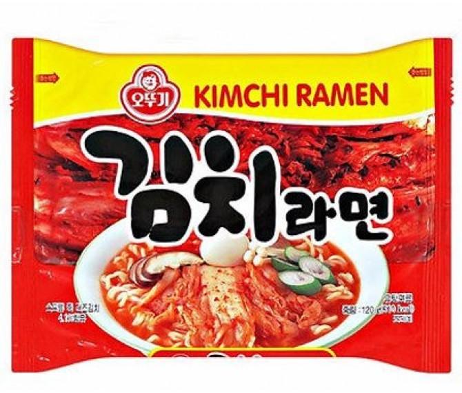 """Лапша быстрого приготовления """"Kimchi ramen"""" со вкусом кимчи"""