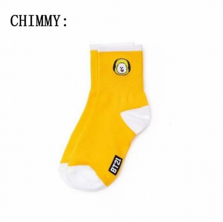 Носки BTS/BT21 (Chimmy)