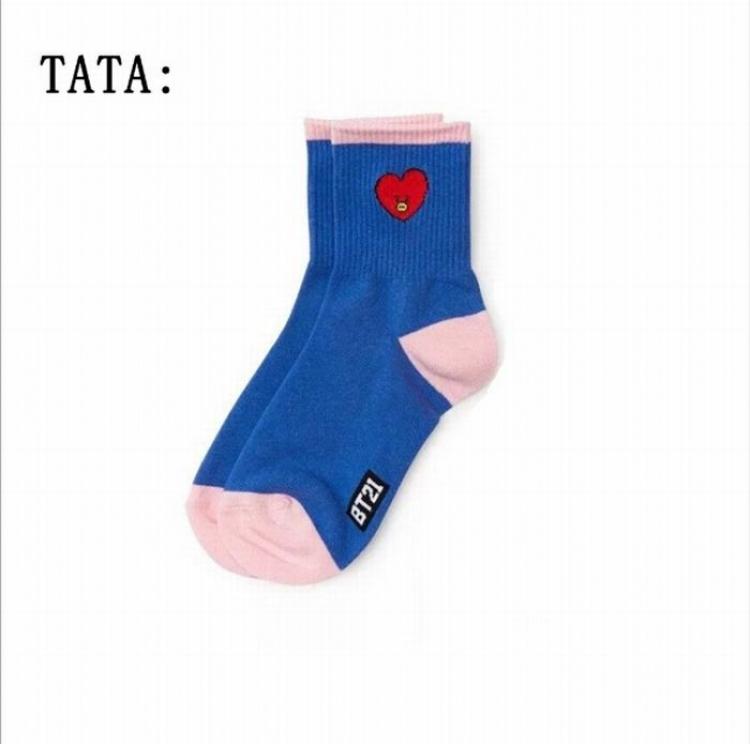 Носки BTS/BT21 (Tata)