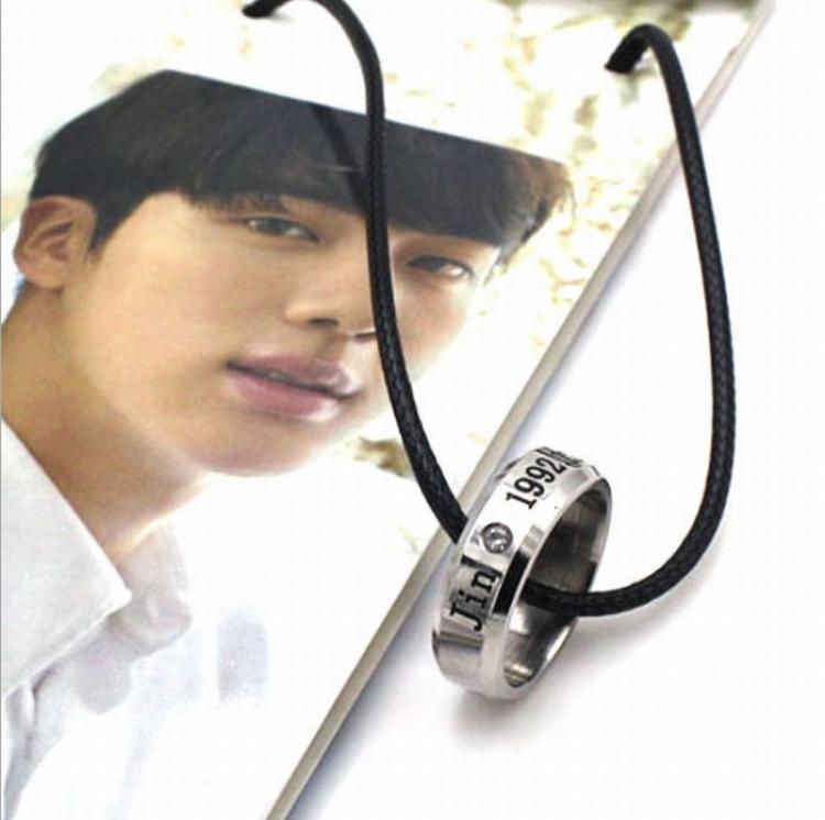 Кулон - кольцо BTS (Jin)
