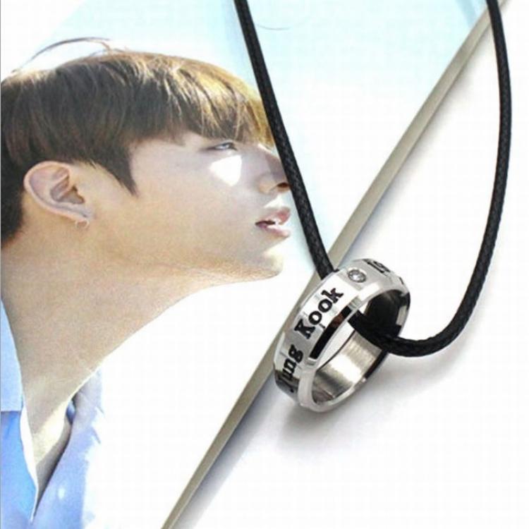 Кулон - кольцо BTS (Jungkook)