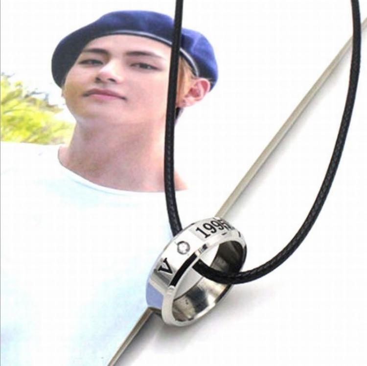 Кулон - кольцо BTS (V)