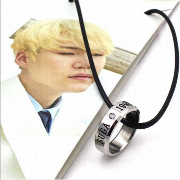 Кулон - кольцо BTS (Suga)