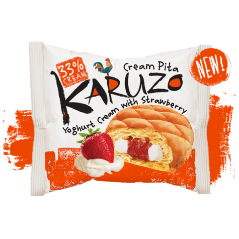 Пирожное Karuzo Yoghurt&Strawberry