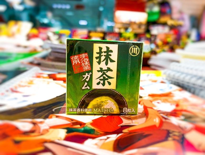 Жевательная резинка Marukawa Matcha/чай матча