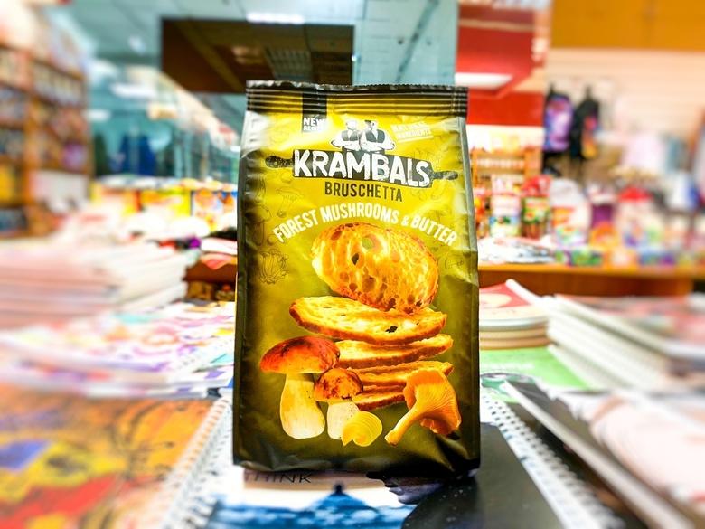 Брускетты Krambals Forest Mushrooms & Butter/грибы в масле