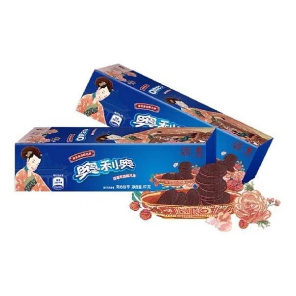 Печенье «Oreo» со вкусом розы