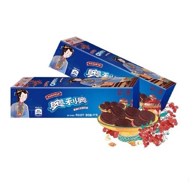 Печенье «Oreo» со вкусом красных бобов