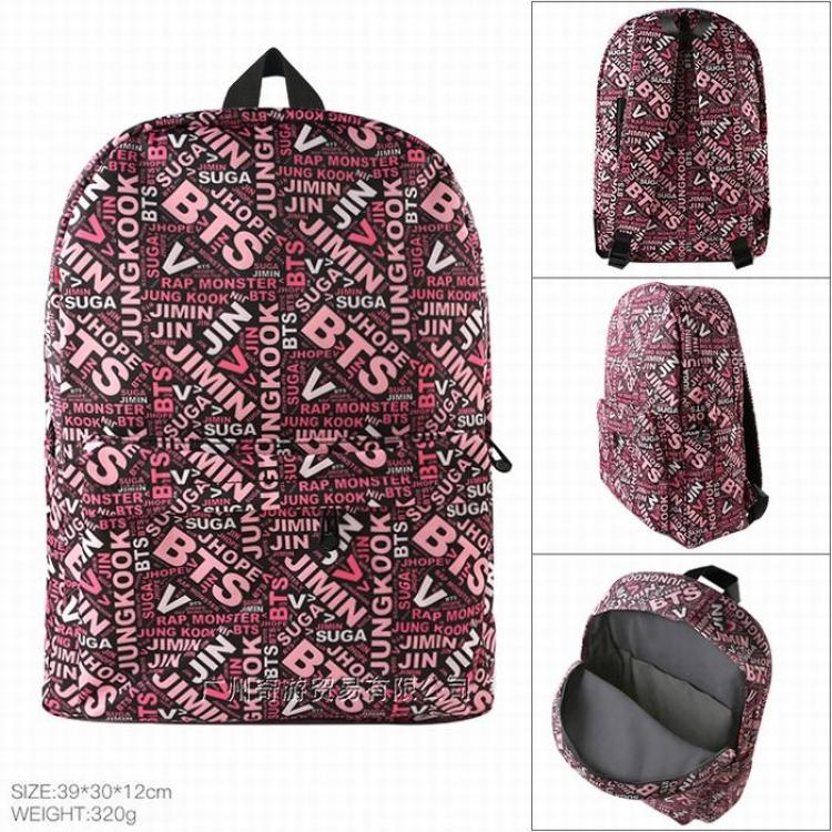 Рюкзак BTS pink