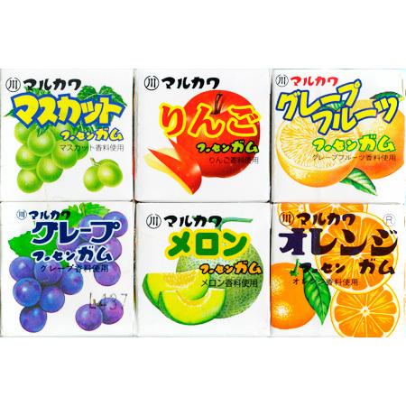 MARUKAWA ж\р Ассорти из 6 фруктовых вкусов