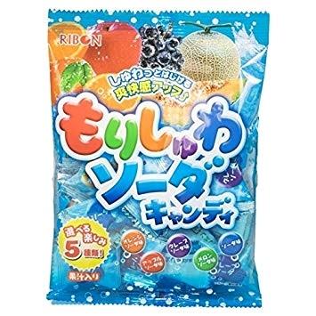 RIBON«Morishuwa Soda» (содовая карамель, ассорти из 5-ти вкусов)