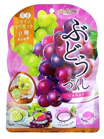 SENJAKU Карамель со вкусом винограда.