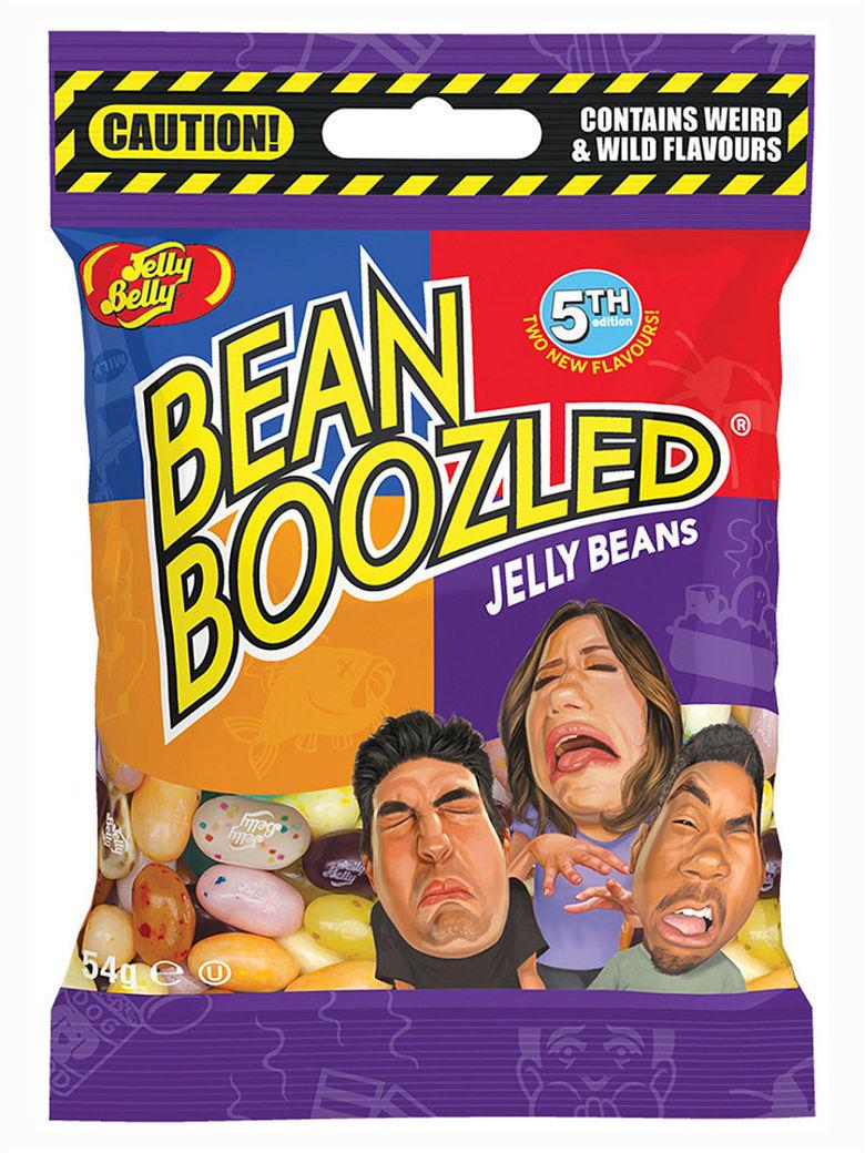 Драже Jelly Belly Beanboozled 5-я версия