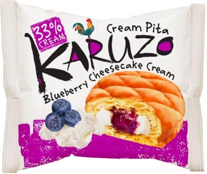 Пирожное Karuzo Blueberry cheesecake