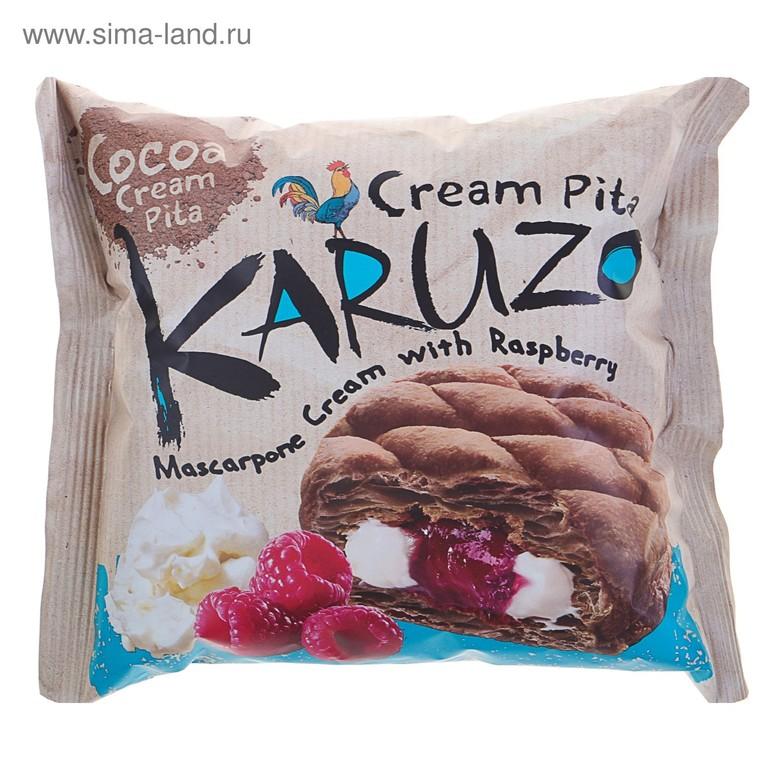 Пирожное Karuzo Mascarpone cream&Raspberry