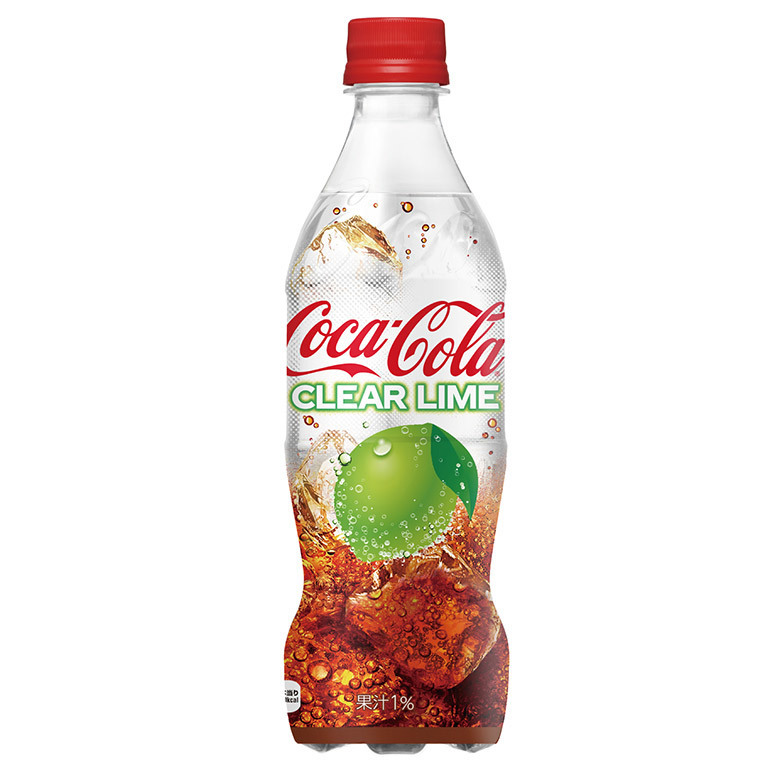 Coca-Cola Clear Lime (Япония)