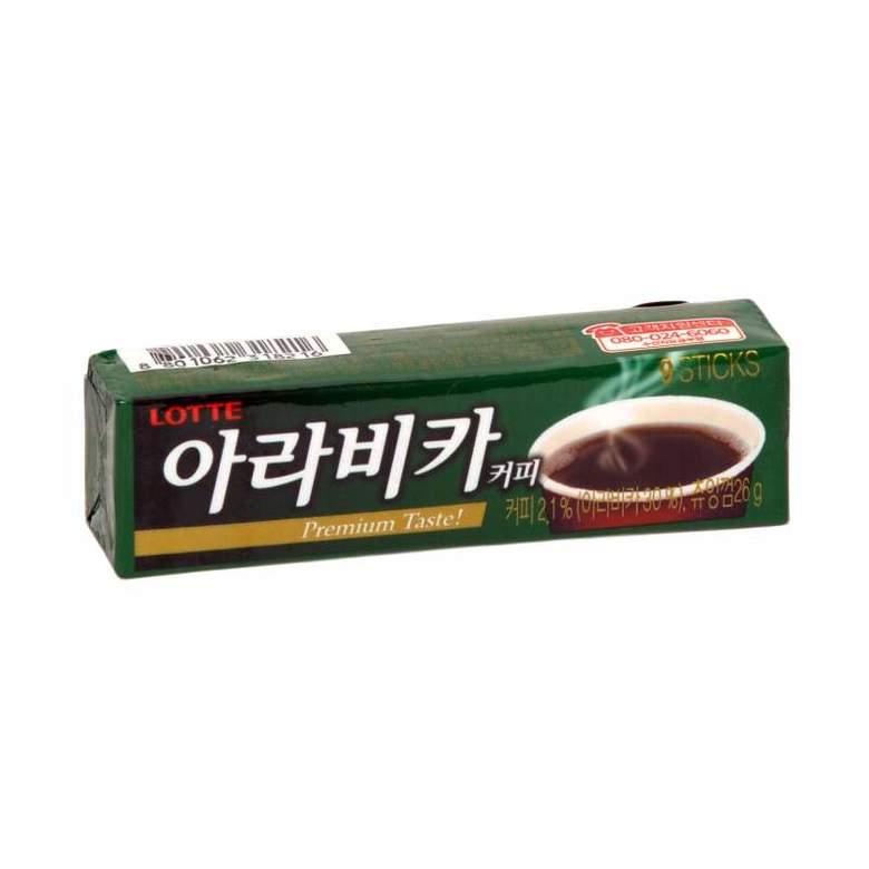 Жевательная резинка с кофейным вкусом Arabica Gum