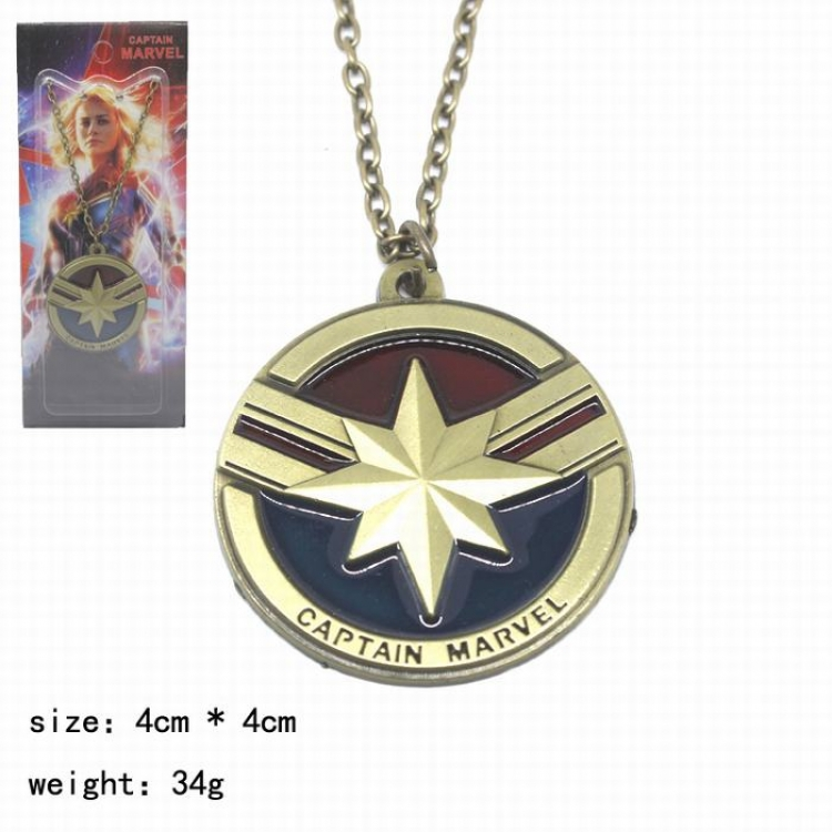 Кулон Капитан Марвел/Captain Marvel