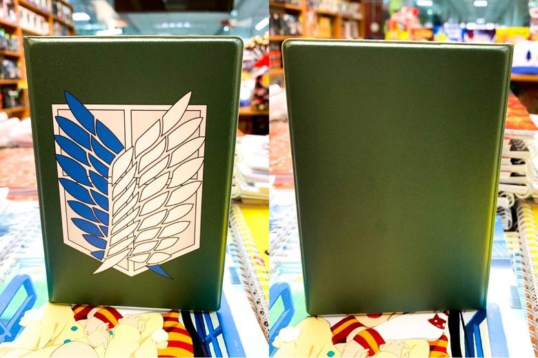 Обложка для паспорта Атака Титанов/Shingeki no Kyojin