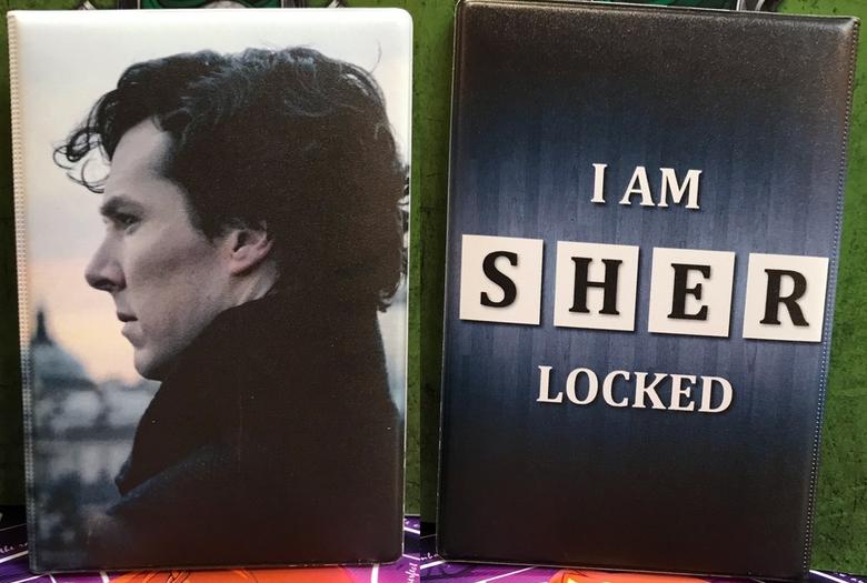 Обложка для паспорта Шерлок/Sherlock
