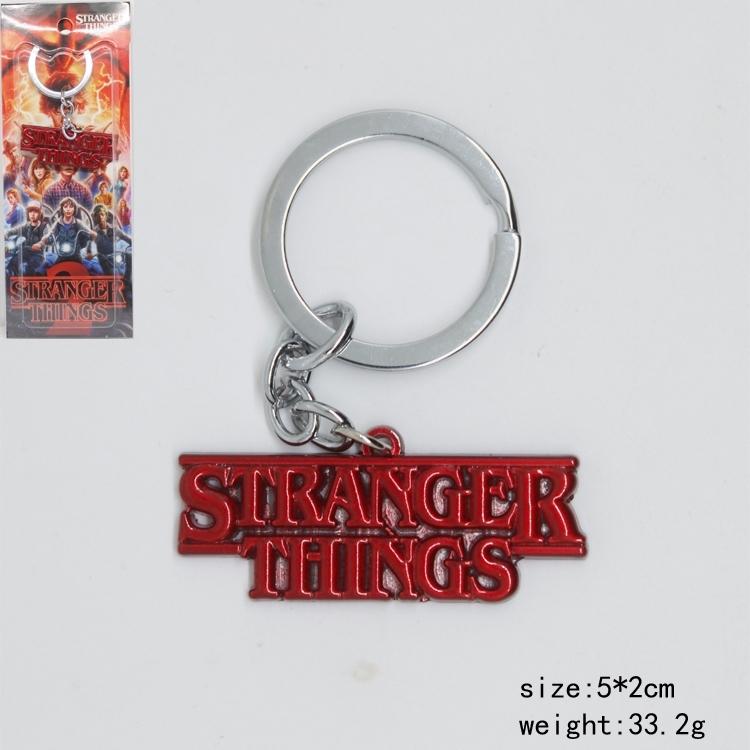 Брелок Очень странные дела/Stranger Things (красный)