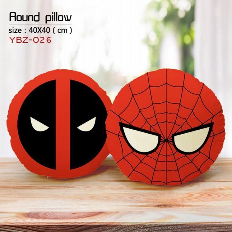 Круглая подушка Человек-Паук, Дэдпул/Spider-man, Deadpool