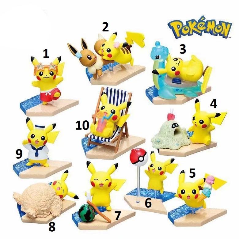 Фигурка Пикачу/Pikachu (Игры на пляже)