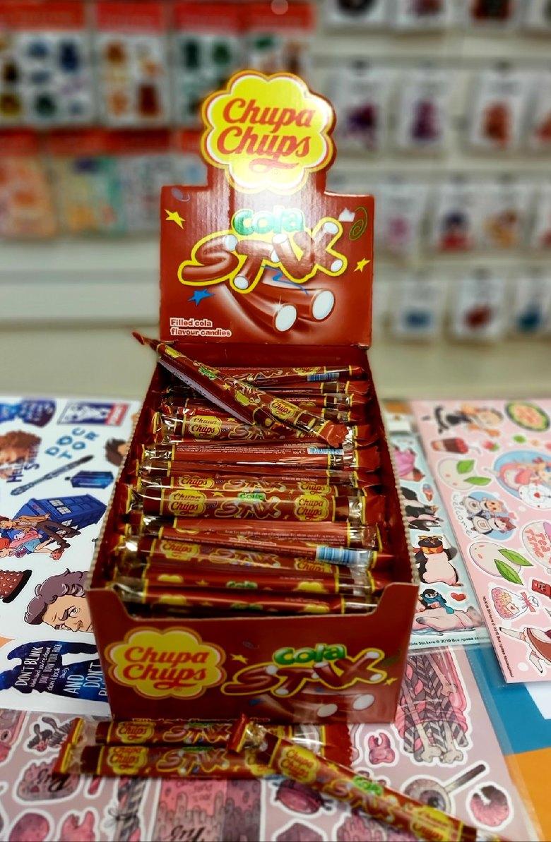 Жевательные конфеты Chupa Chups Cola Stix